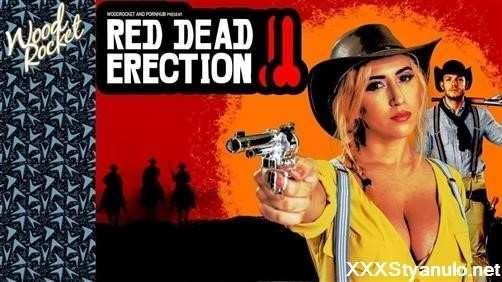 April O'Neil  - Red Dead Erection: Rdr2 Porn Parody  [HD]