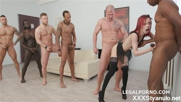 Kira Roller, Rocket, Angelo, Max Born, Carlos Valdez, Dylan Brown, Freddy Gong - 6On1 Piss Gangbang With Kira Roller Balls Deep Anal Dap Gapes Pee Drink Crempie To Glass Swallow Gio562 [HD]