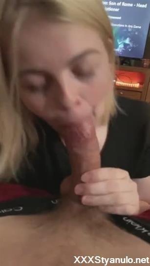 Lovehomeporn Fresh Porn Xxx Movie Cock Hungry Blondie Sucks My