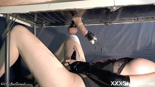 KittyBeGood - Femdom Milking Gloryhole Vibrator Controller! Filling Up Condom [FullHD]