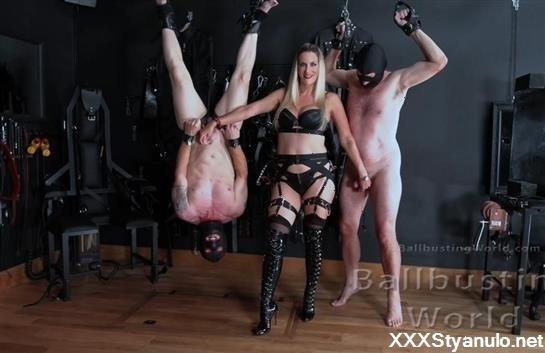 Mistress Nikki Whiplash - Ballbusting Training Day [FullHD]