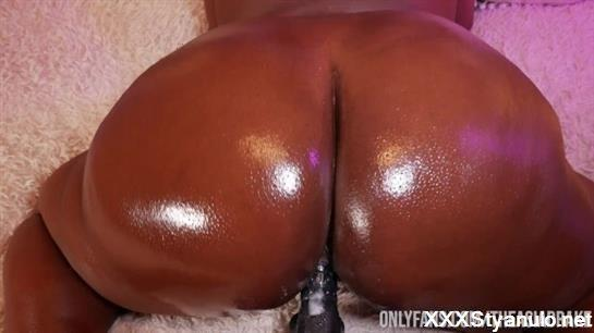 DarkWetDreemz - Huge Booty Bbw Throws Ass Back On Demon Dick [HD]